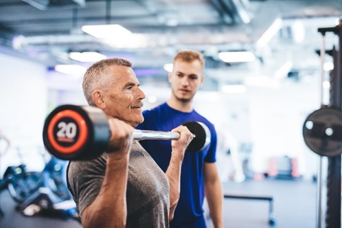 personal training in your 50s