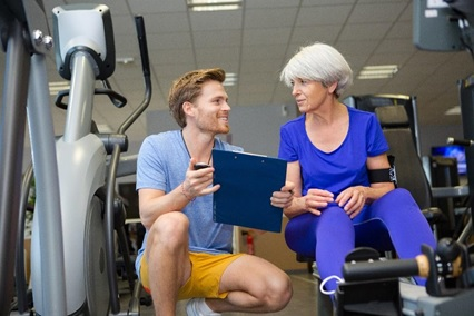 personal training in your 60s