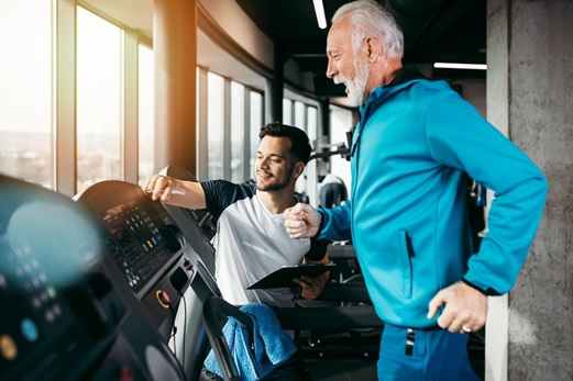 personal training in your 70s